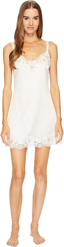 Dolce & Gabbana - Stretch Satin Lace Long Cami Dress