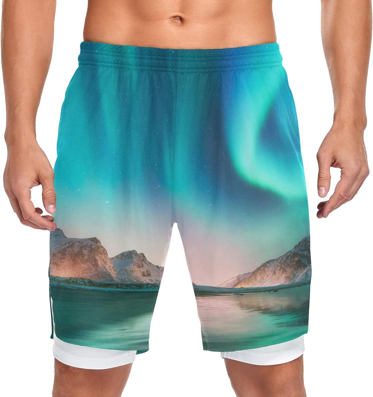 Running Shorts Norway Aurora [Alternative dealer] Men Workout quality assurance w Training Sport