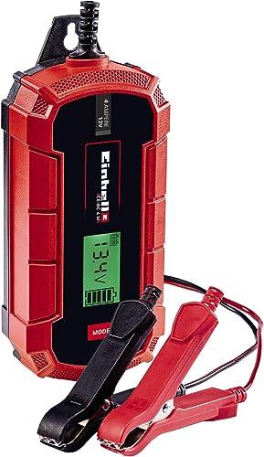Einhell Un cargador de baterías CE-BC 4 M (cargador de baterías inteligente con control por microprocesador para los ...