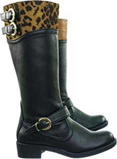 Girl Riding Boots Youth Moto-38