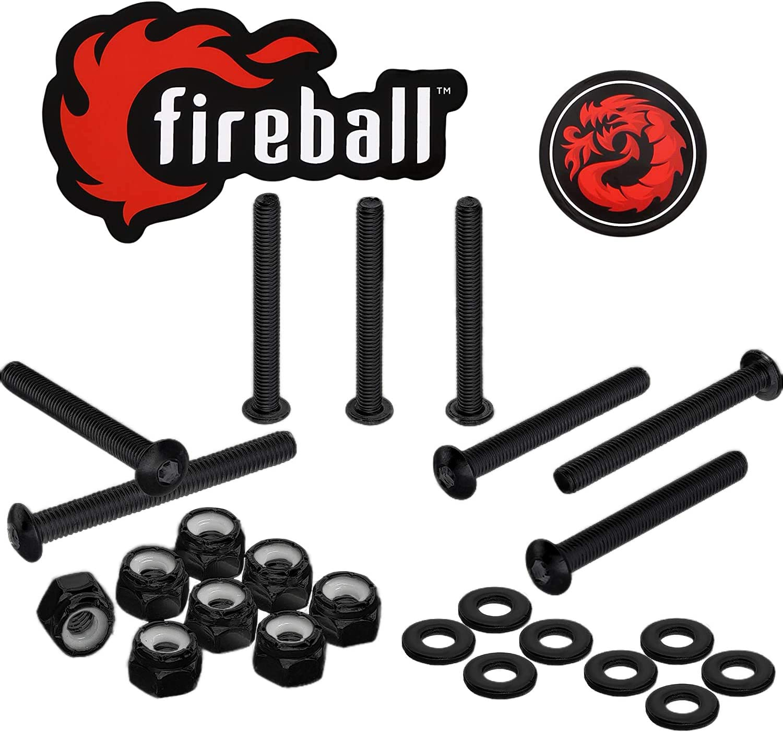 Today's only Fireball Dragon Black Stainless Dedication Mount Steel Skateboard Longboard
