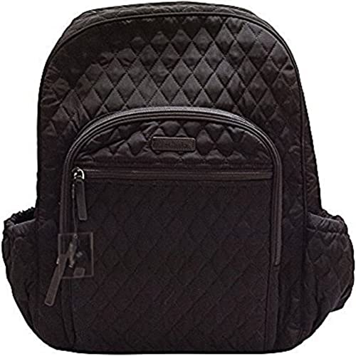 Campus Backpack, Classic Black with Multi Dot Interior