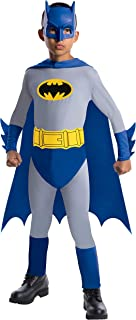 Batman The Brave and The Bold Batman Costume with Mask and Cape, Large