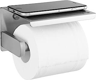 Polarduck Porte Papier Toilette Auto-adhésif, Support Papier Toilettes pour Salle de Bain et Cuisine, Acier Inox SUS 304, ...