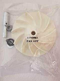 Best Kirby Assembly Fan, 1-Pack, Gray Off White Review