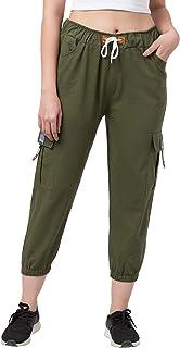 FUNDAY FASHION Women's/Ladies/Girls Regular Fit Cargos Jeans Jogger