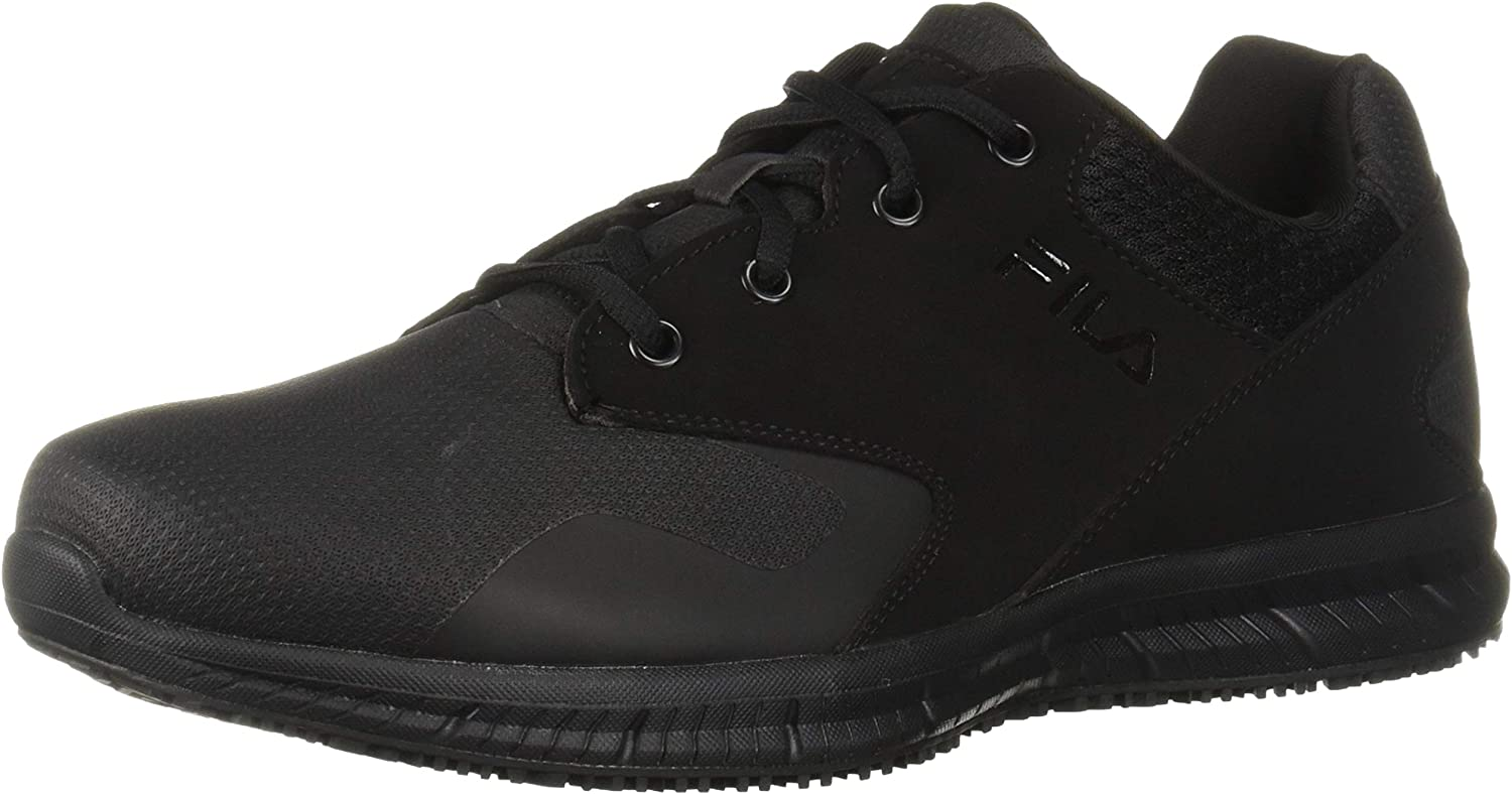 Fila Womens Memory Layers Slip Resistant Work shoes Food Service shoes