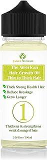 Jadole Naturals The American Hair Growth Oil - Longer Thicker Hair N1