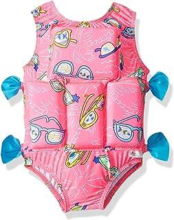 My Pool Pal girls Flotation Swimsuit One Piece Swimsuit