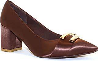 Hype Women's Bow Buckle Satin Pointed Belly ZD10374 (Erto)