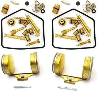 Ultimate Carburetor Rebuild Kit with Floats - Compatible with Honda 1970-1973 CB350 CL350 Twins