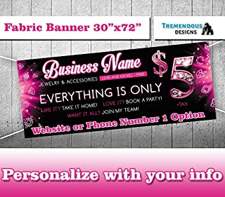 Customize Jewelry Consultant Banner -30