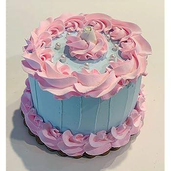 Phenomenal Amazon Com Dezicakes Fake Cake Shabby Chic Cake 6 Faux Cake Personalised Birthday Cards Vishlily Jamesorg