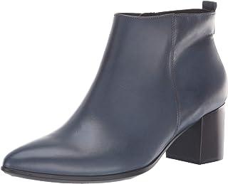 حذاء برقبة حتى الكاحل للنساء من ECCO مقاس 45، حذاء مسطح، 39 M EU (8-8. 5 أمريكي)