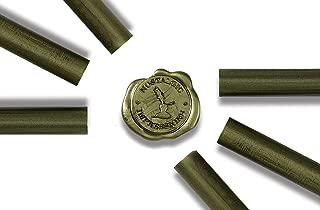 Premium Glue Gun Sealing Wax - Moss Green - Pack of 6