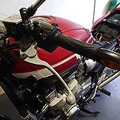 Bremshebel Und Kupplungshebel Paar Für Yamaha Xjr 1300 Bj 1999 2003 Lenkerhebel Schwarz Pulverbeschichtet Auto