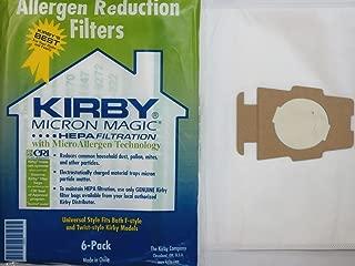 Kirby 6 Cloth Sentria Hepa Micron Magic Ultimate G Vacuum Bags +1 Free Belt