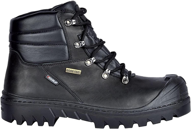 Cofra 26460-000.W45 Safety shoes Obregon UK S3 Wr HRO SRC Size 45 in Black