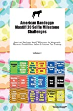 American Bandogge Mastiff 20 Selfie Milestone Challenges American Bandogge Mastiff Milestones for Memorable Moments, Socialization, Indoor & Outdoor Fun, Training Volume 3