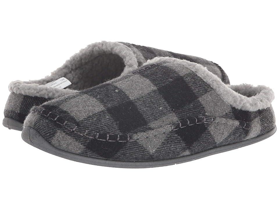 Deer Stags Nordic Slipper (Grey/Black) Men