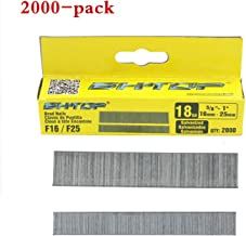 BHTOP 18 Gauge 5/8 inch to 1 inch brad Nails,Heavy Duty finish nails for nailer (2000-Pack)