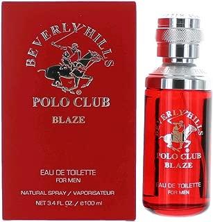 Beverly Hills Polo Club Blaze by Beverly Hills Polo Club, 3.4 oz Eau De Toilette Spray for Men
