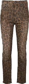 R13 Luxury Fashion Womens R13W0023439LEOPARD Brown Jeans | Fall Winter 19