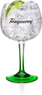 GL GmbH Tanqueray Copa Glas, Gin Tonic, Bauchiges Longdrink, Alkohol Drink Glas, 500 ml