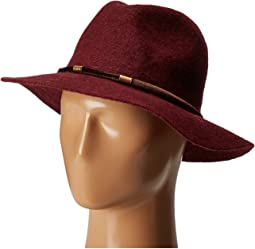 CTH8074 Knit Fedora with Velvet Band
