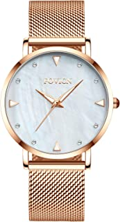 Womens Watches Ultra Thin Waterproof -Fashion Wrist Watch...