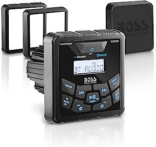 BOSS Audio MGR450B in-Dash, Marine Gauge, Bluetooth, Digital Media MP3 / WMA/USB/AM/FM Weather-Proof Marine Stereo, (No CD...