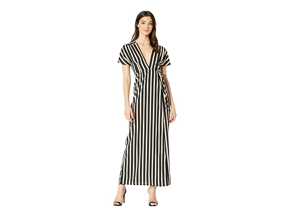 Amuse Society Fit To Be Tied Dress (Black) Women