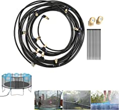 CozyCabin Trampoline Misting Cooling System 49.2FT (15M) Misting Line (with G3/4