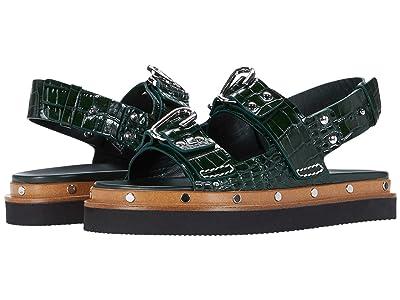 3.1 Phillip Lim Alix Flatform Sandal (Green) Women
