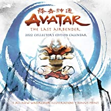 Avatar: The Last Airbender 2022 Collector's Edition Wall Calendar: with 13 all-new, exclusive watercolor illustrations + b...