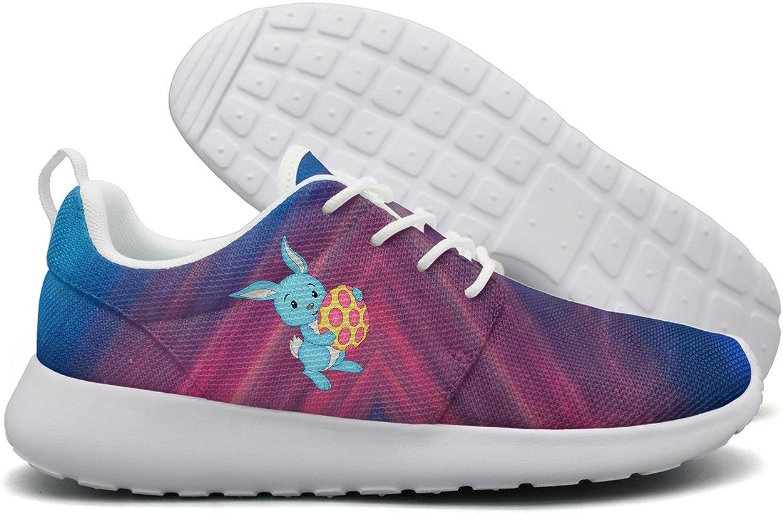 Easter bluee Bunny With Egg Womens Flex Mesh Lightweight Running shoes Women