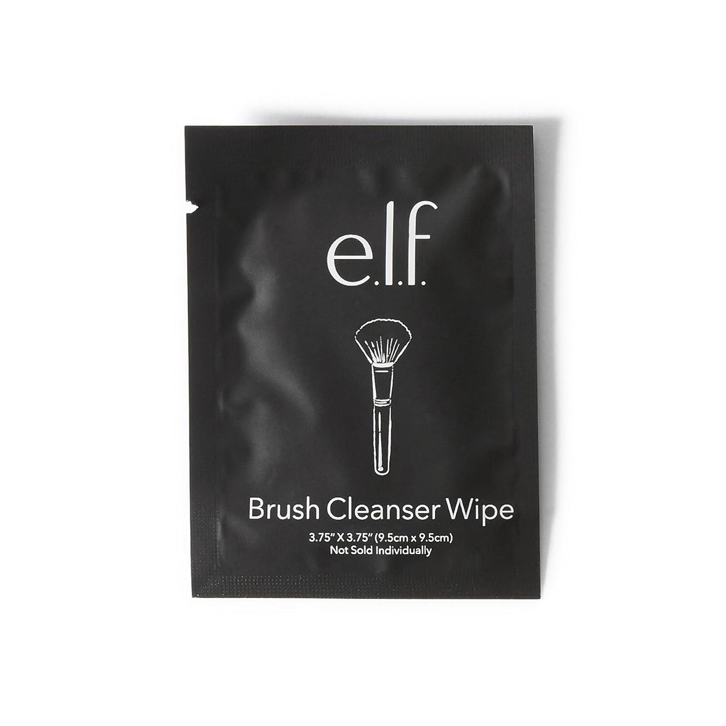 おかしい振る舞い陽気なe.l.f. Brush Cleanser Wipes (並行輸入品)