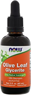 Now Foods Olive Leaf Extract, 2 OZ 18% STD GLYCERITE (Pack of 3)