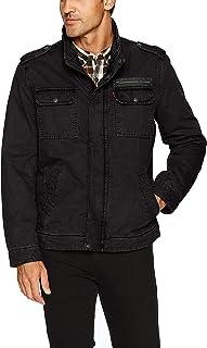 Levi's Men's Washed Cotton Military Jacket