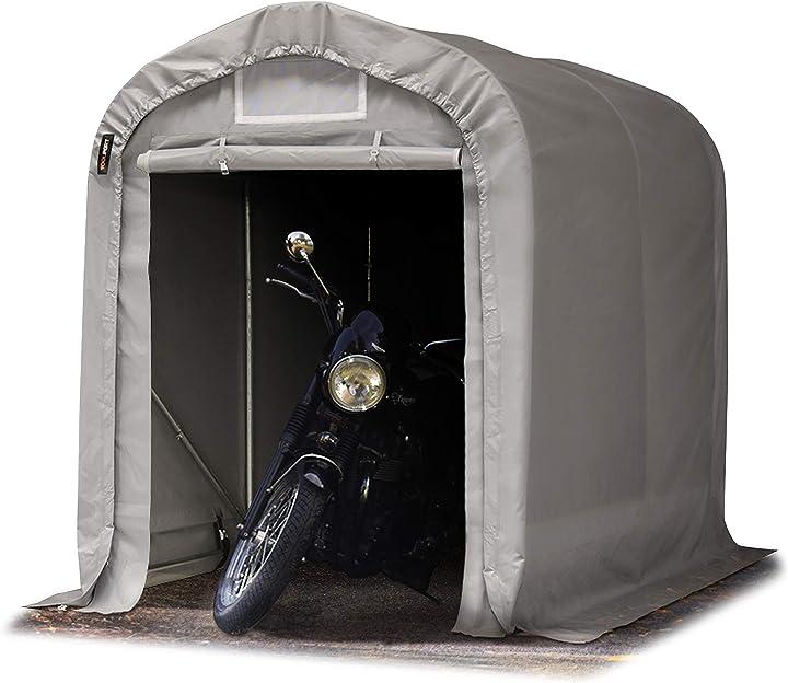 Tenda garage 1,6 x 2,4m tenda per il bestiame tenda capannone toolport B01M02F365