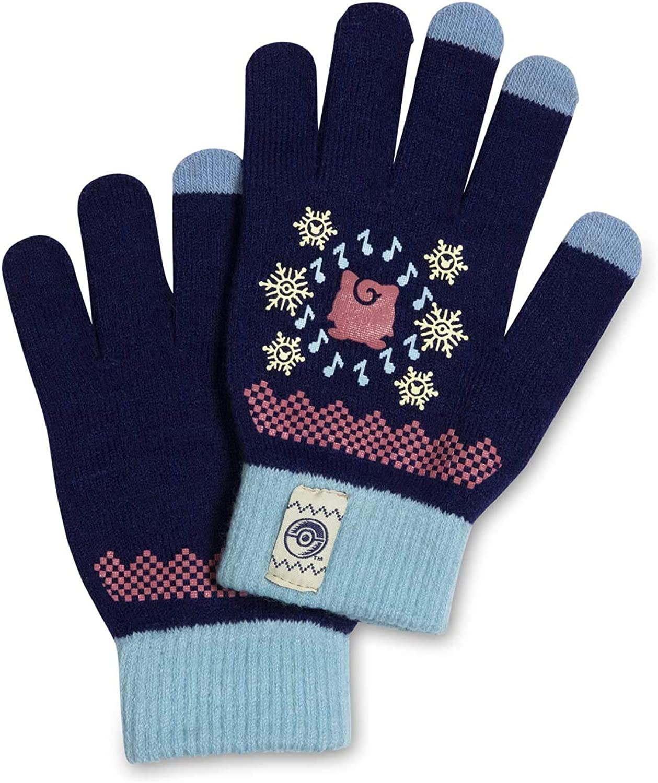 Pokémon Center: Jigglypuff Festive Winter Touch Screen Gloves, One Size