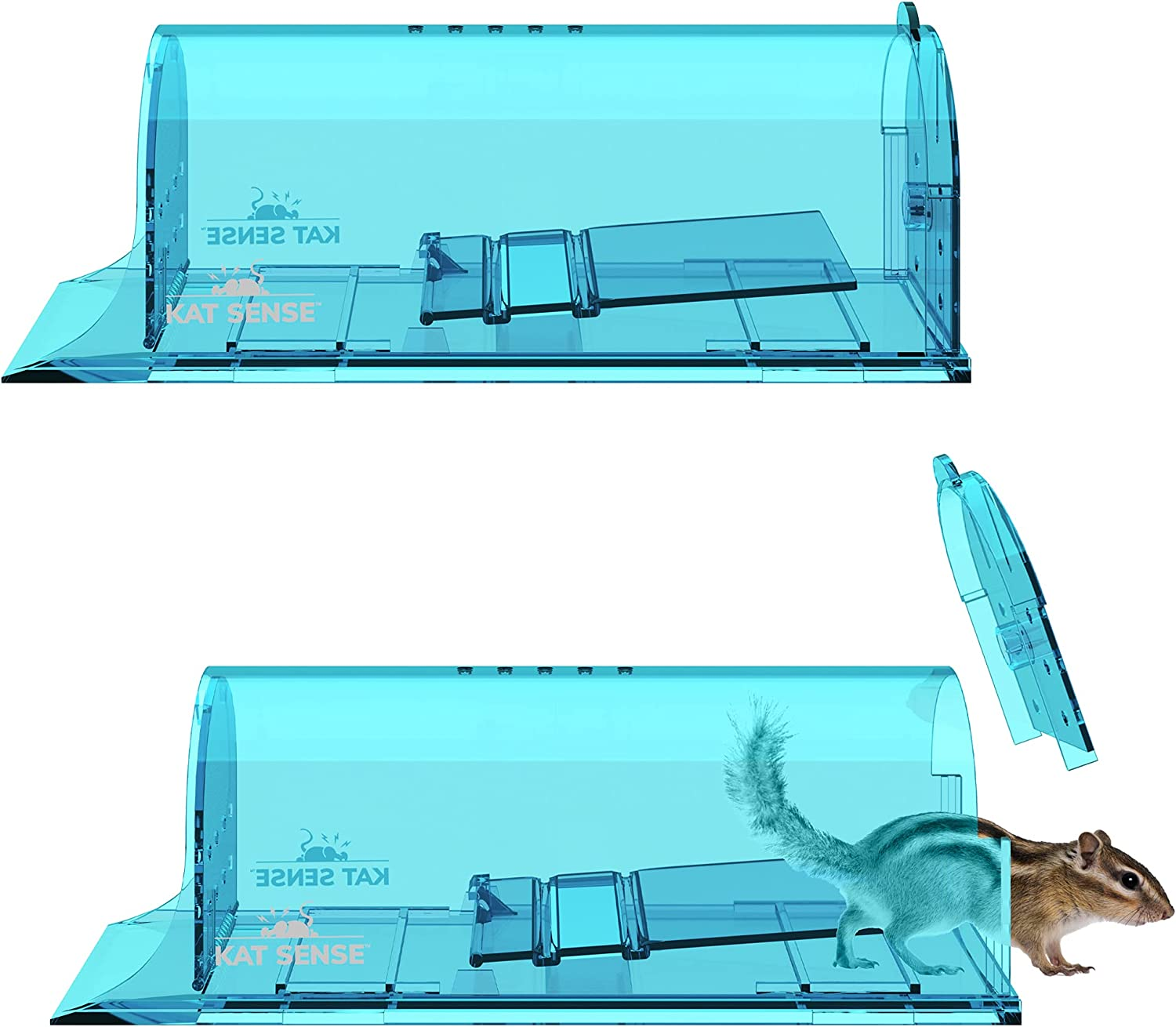 Large Humane Rat Traps Set of and Chipmunks Release In Catch Max 70% OFF 2 Max 55% OFF