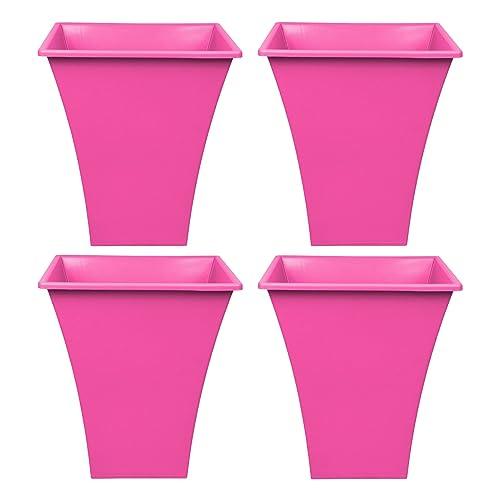 Pink Garden Planters: Pink Plant Pots: Amazon.co.uk