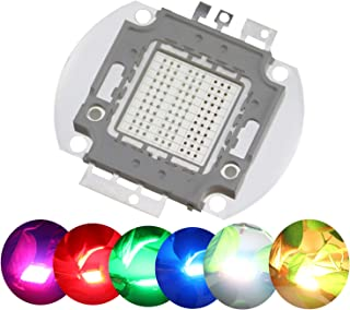 Odlamp Super Bright High Power LED Chip 100W SMD COB Light RGB Color Changing for Emitter Components Diode 100 W Bulb Lamp Beads DIY Lighting (RGB)