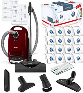 Miele Complete C3 SoftCarpet HEPA Canister Vacuum Cleaner with SEB228 SoftCarpet Powerhead Bundle - Includes Miele Perform...