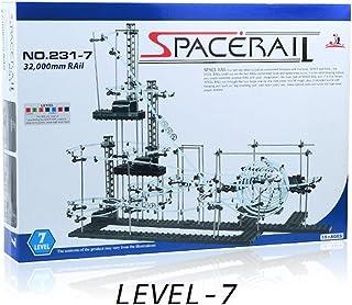 スペースレール(SPACE RAIL) NO. 231 無限ループ スペースレール パズル 知育 脳トレ ジェットコースターのような未来的知育玩具 インテリアとしても存在感大 (レベル7)