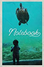 Notebook: Loggerhead Sea helpful Composition Book Journal Diary for Men, Women, Teen & Kids Vintage Retro Design Saltwater Aquarium