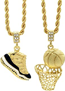 Mens Gold Plated HipHop Retro 11