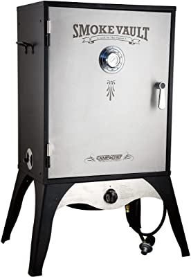 """Camp Chef Smoke Vault 24"""" Vertical Smoker, Body Dimensions 24 in W x 16 in D x 30 in"""