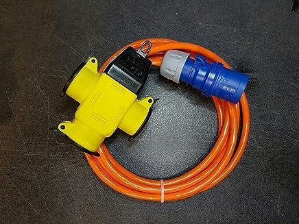 30m exterior Cable de goma IP44 Cable alargador H07RN-F 3/x 2,5./A Partir de 2/m hasta 50/m 1